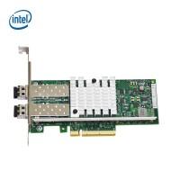 Intel英特尔 X520-SR2 E10G42BFSR 万兆服务器双口光纤网卡82599芯片