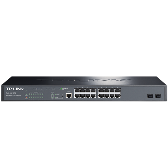 TPLINK TL-SG3218PE 全千兆网管PoE交换机